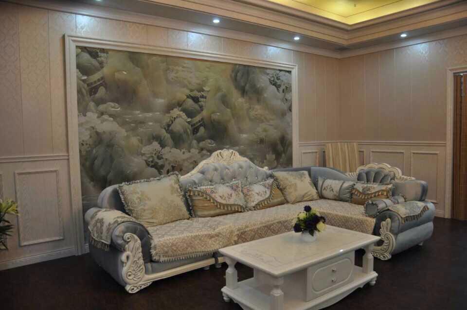 软晶木全屋整装及沙发背景墙
